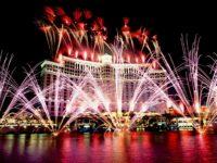 Feu d'artifice Las Vegas