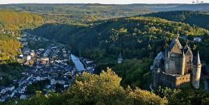 Chateau de Vianden Luxembourg