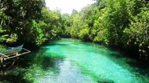 The Enchanted River, la rivière enchantée aux Philippines
