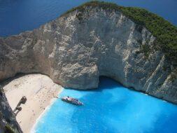 Navagio Beach Baie du Naufrage Grèce