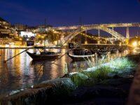 Pont Dom Luis nuit Porto