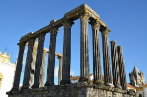 Temple romain Évora Portugal