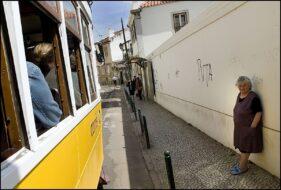 Tramway 28 Lisbonne