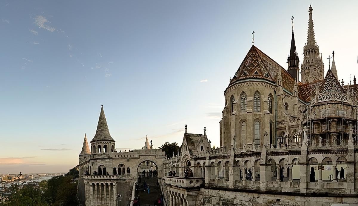 Visite du quartier de Buda et son château