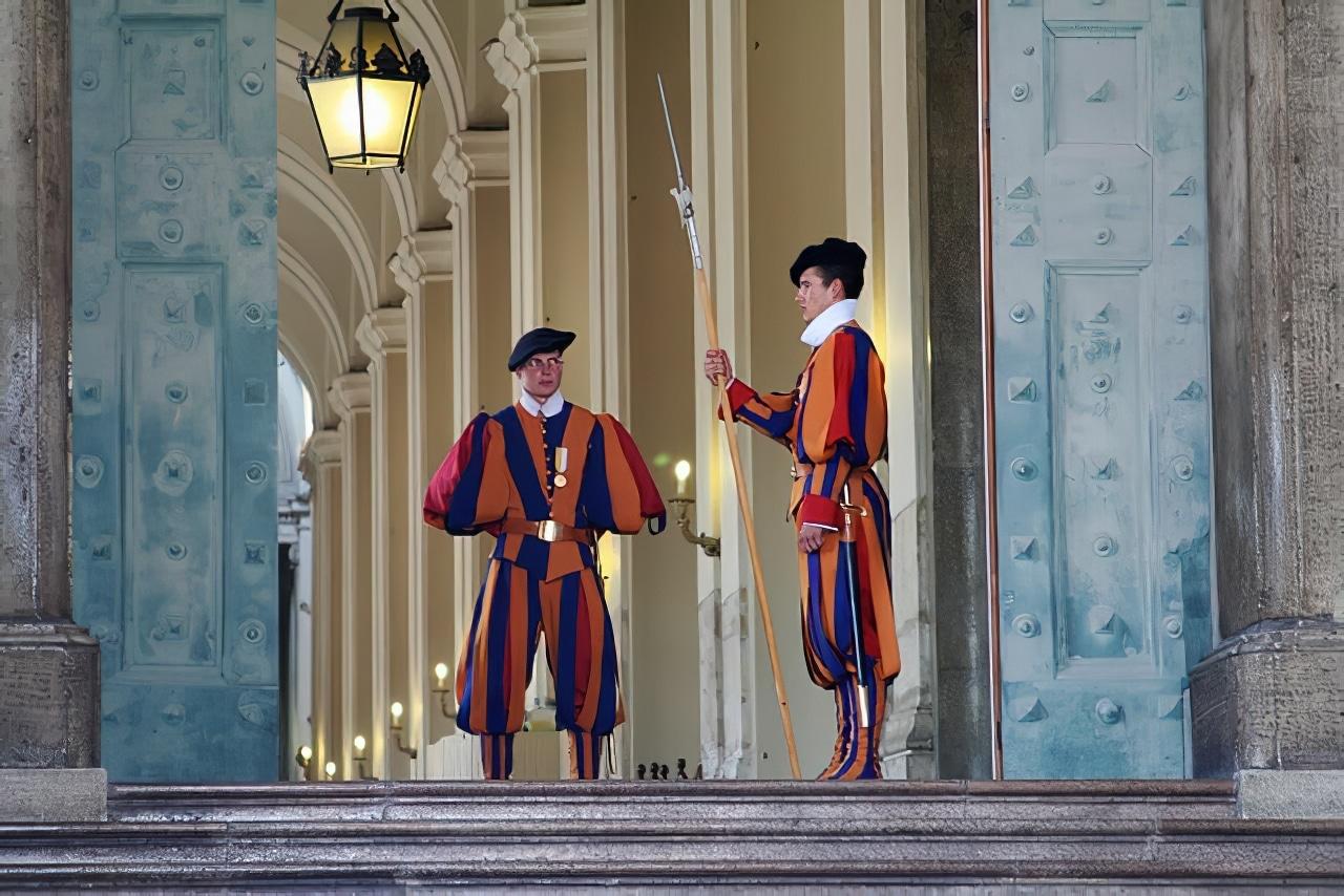 Gardes suisses Vatican
