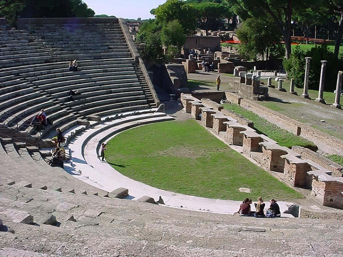 Théâtre Ostia Antica