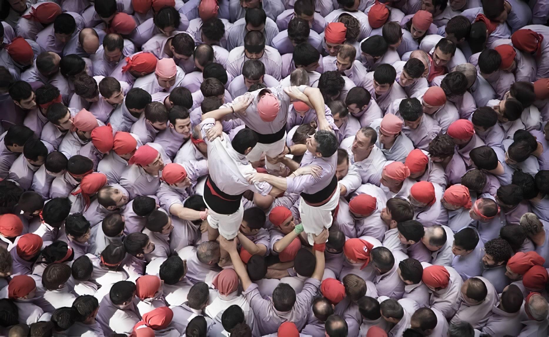 David Oliete, Concurs de Castells, Tarragona