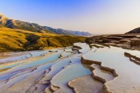 Terrasses naturelles Badab-e Surt, Iran