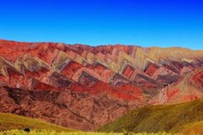 Montagnes de Hornocal, Quebrada de Humahuaca, Argentine