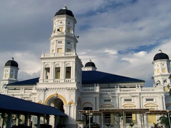 Mosquée Johor Bahru, Malaisie, Singapour
