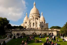Touristes Paris Sacré Coeur, France pays le plus visité au monde