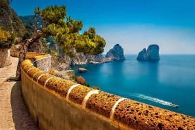 La Via Krupp sur l'île de Capri