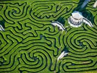 Longleat Hedge Maze, labyrinthe de Longleat