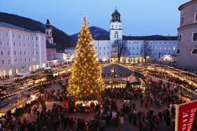 Christkindlmarkt, Marché de Noël de Salzbourg