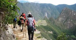 Trek sur le Chemin de l'Inca, Machu Picchu, Pérou
