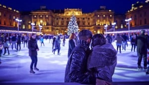 Patinoire Somerset House Londres