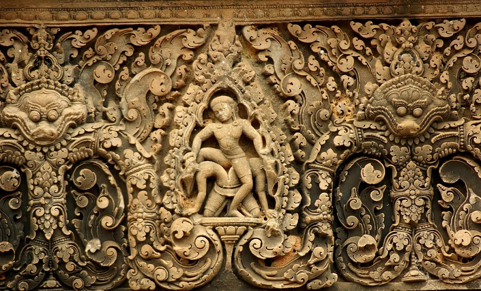 Banteay Srei, temple Angkor, Siem Reap
