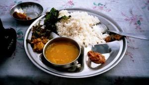 Dal bath, spécialité népalaise