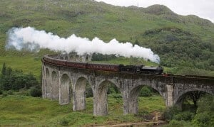 Jacobite Steam Train, Poudlard Express, Ecosse