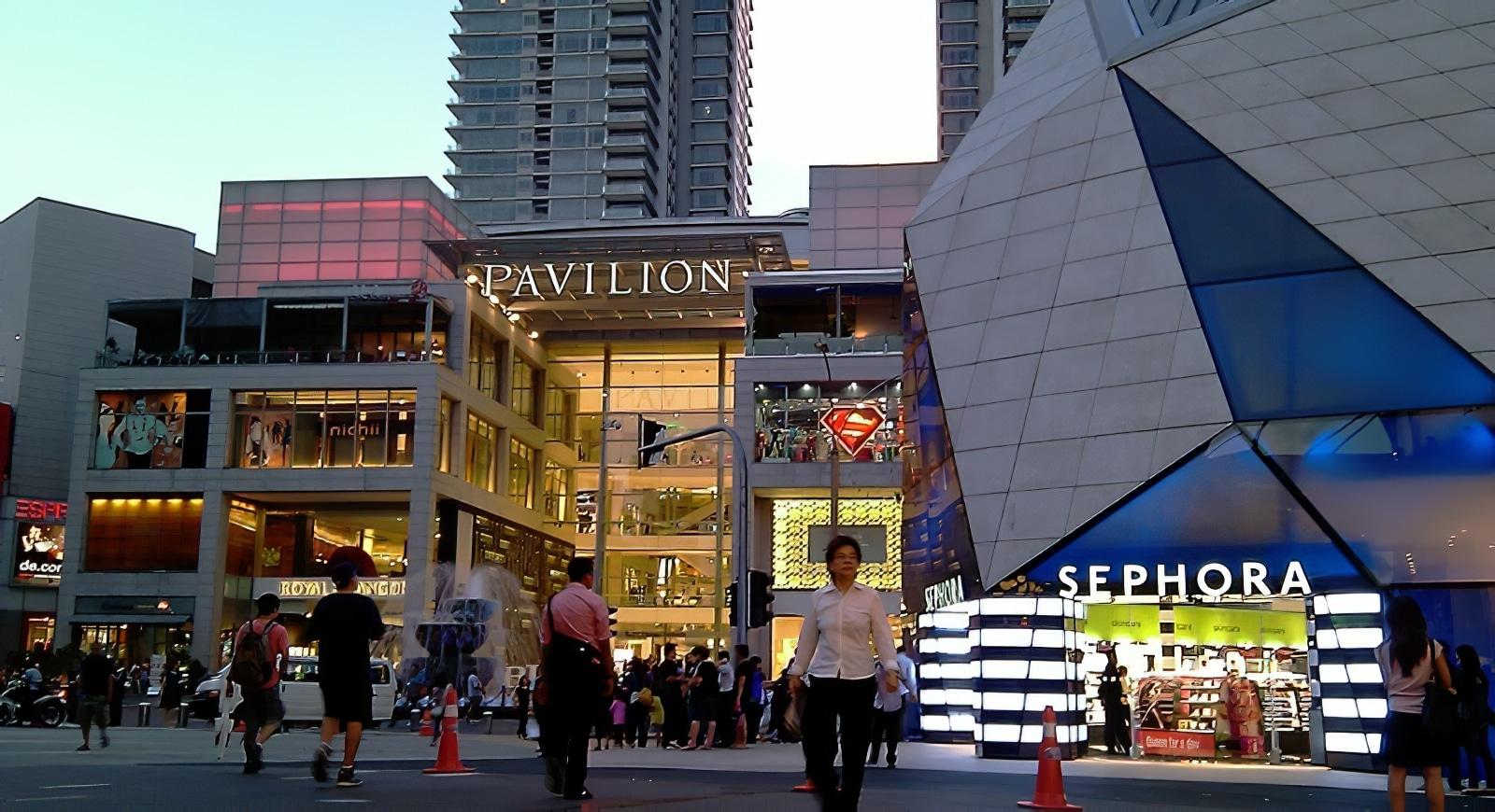 Pavillion shopping malls, Kuala Lumpur