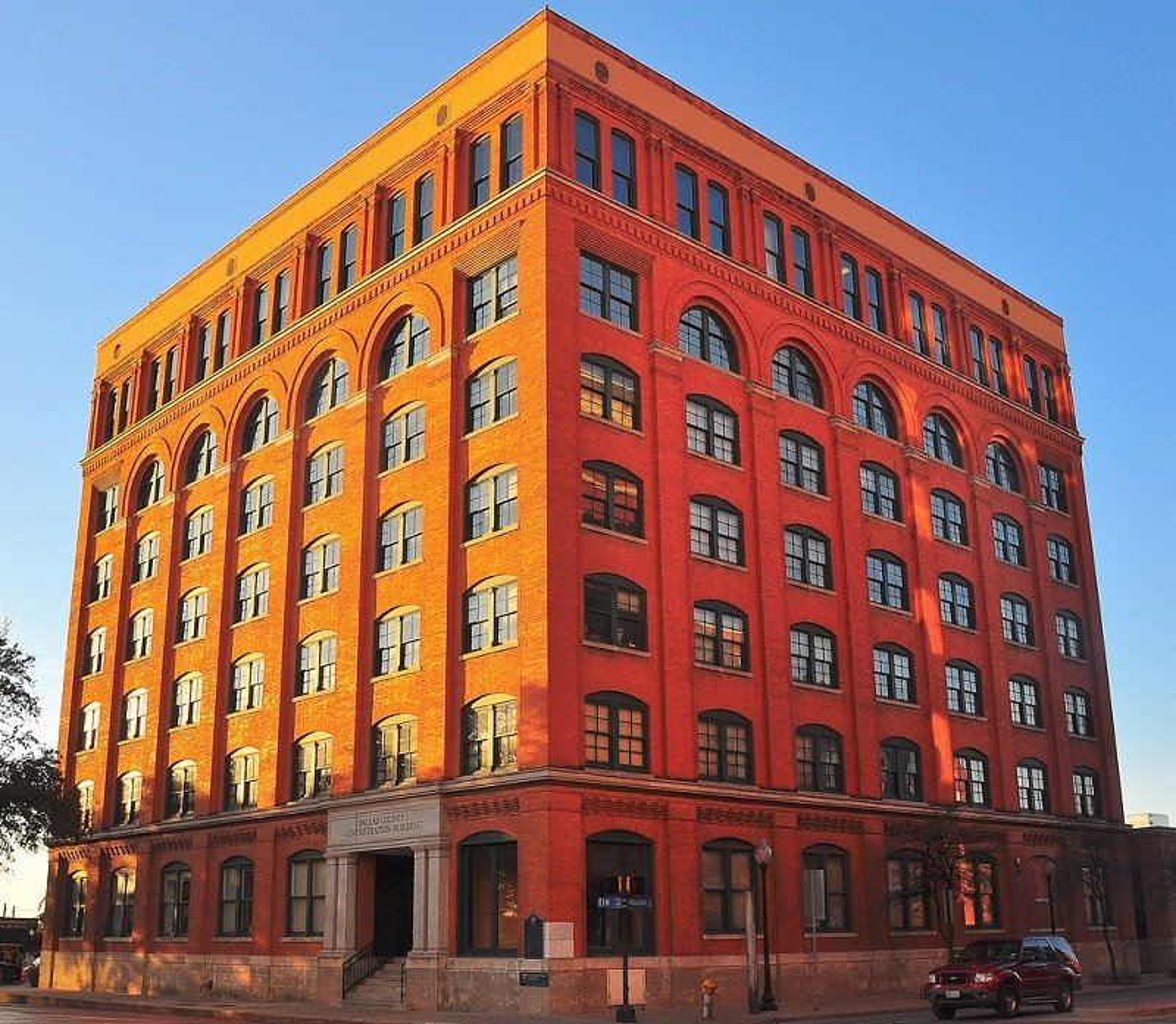 Texas School Book Depository et le Six Floor Museum, Dallas