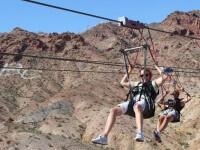 Tyrolienne Bootleg Canyon, Las Vegas