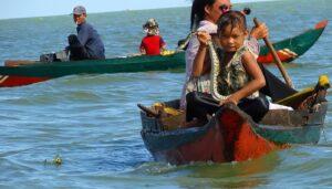 Le Tonlé Sap, le plus grand lac d'Asie du Sud