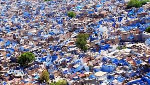 bleu, Jodhpur