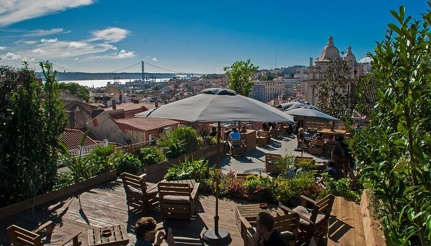 PARK, Lisbonne, bar, jardin