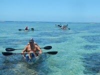 kayak transparent, La Réunion