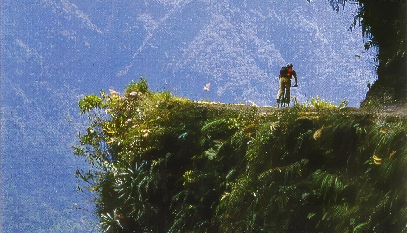 Route la plus dangereuse au monde, route de la mort, Bolivie