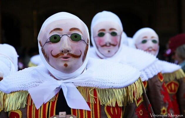 Belgique : l'unique carnaval de Binche