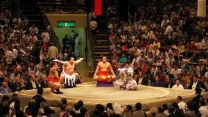 Combat de Sumos, Tokyo, Ryogoku Kokugikan