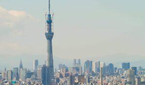 Skytree, Tour à Tokyo