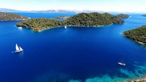 Île de Mljet, Croatie