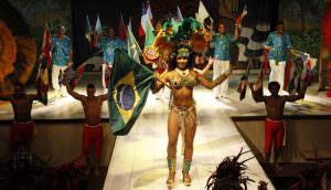 Spectacle de samba au Plataforma à Rio