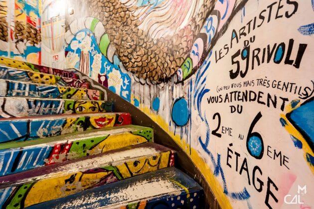 Bienvenue au 59 Rivoli, un squat artistique en plein cœur de Paris !