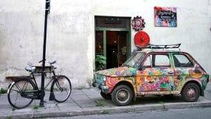 Parking à Cracovie