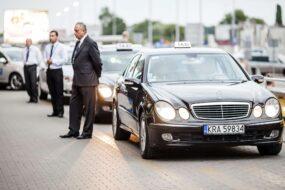 Taxi à Cracovie