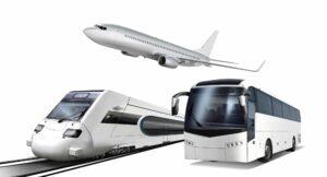 Avion, train bus : les transports en France