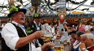 Oktoberfest à Munich, fête de la bière