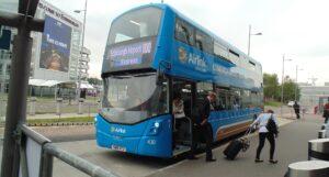 Transfert depuis l'aéroport d'Edimbourg avec le bus Airlink