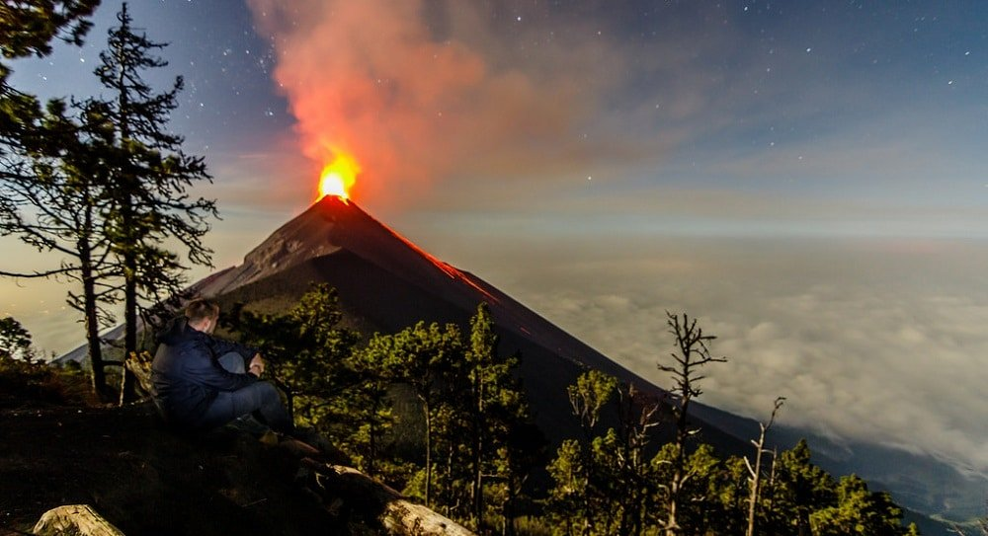 Randonnées sur les volcans du Guatemala