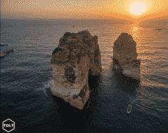 Raouché à Beyrouth