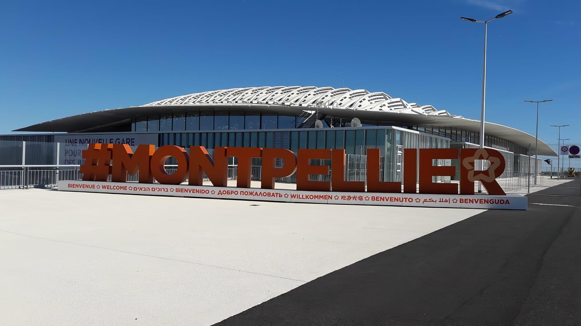 Gare Sud de France de Montpellier