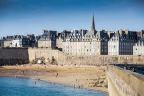 Saint-Malo, l'une des meilleurs villes où loger en Bretagne