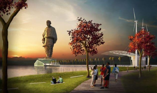 Visiter la statue de l'Unité en Inde, la plus grande statue du monde