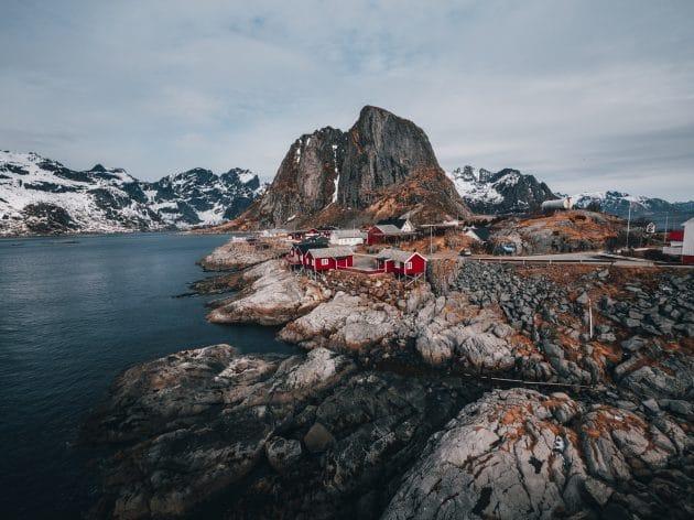 Camping-car en norvège