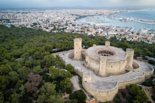 Visiter le Castell de Bellver à Palma de Majorque