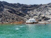 Visiter le cratère Néa Kameni à Santorin